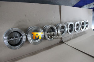 Stainless Steel Wafer Dual Plate Check Valve with Ce ISO Wras Approved pictures & photos