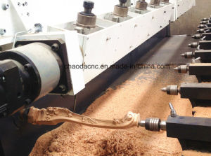 Multi Heads 5 Axis Rotary Simultaneous CNC Wood Carving Router Machine pictures & photos
