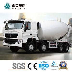 China Best HOWO T7h Mixer Truck with 8X4 pictures & photos