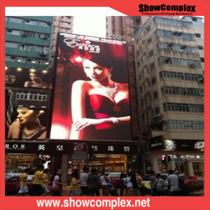 P6 Full Color Video Wall High Brightness Iron Cabinet Outdoor LED Display pictures & photos