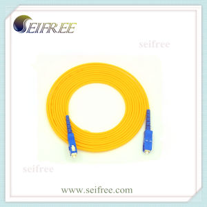 Sc-Sc Fiber Optic Patch Cord Cable (Telecom, Network, FTTH, CATV) pictures & photos
