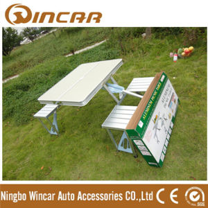 4 Person Aluminum Folding Dining Table pictures & photos