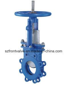 Cast Steel/Cast Iron Non-Rising Stem Knife Gate Valve pictures & photos