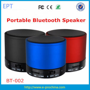 2016 Ept Wireless Bluetooth Speaker with FM Radio, SD Card Slot pictures & photos