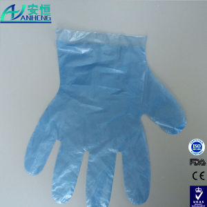 Disposable Polyethene Glove for Food Handling pictures & photos