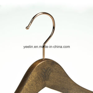 China Supplier Yeelin Hot Sale Wooden Hangers for Clothes (YL-a016) pictures & photos