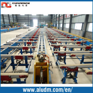 New Design Aluminium Profile Extrusion Machine in Profile Cooling Conveyor Tables/Handling System Conveyor pictures & photos
