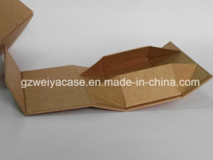 New Design Fashionable Eyeglasses Folding Paper Box with Water Washing Paper