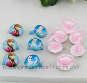 Round Shape Glasses Frozen Rings for Girls pictures & photos