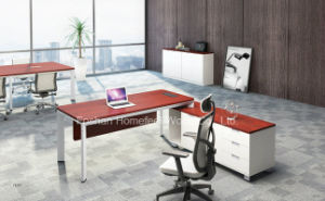 Melamine Office Executive Desk Modern Manager Table Furniture (HF-YZL003) pictures & photos