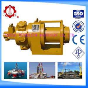 1 Ton Small Remote Control Pneumatic Winch for Drilling Platform pictures & photos