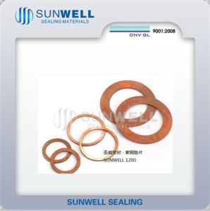 Red Copper Solid Copper Gasket High Quality pictures & photos