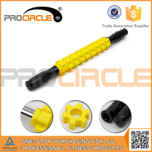 Popular Bright Yellow Muscle Pain Relief Massager Bar (PC-MS2010) pictures & photos