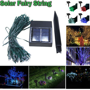 8 Colors LED Solar String Light for Christmas and Holidays pictures & photos