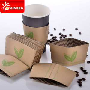 Disposable Paper Coffee Cup Wraps pictures & photos