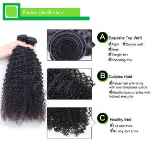 Top Quality Deep Wave Virgin Brazilian Human Natural Hair pictures & photos