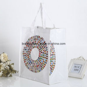 Laminated PP Woven Shopping Bag for Promotional pictures & photos