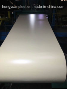 Ral1015 Paint Coating 25/11micron Z30-275 PPGI Color Steel Sheet pictures & photos