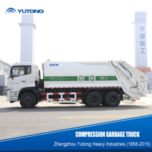 Yutong New Generation of 20 M3/Cbm Waste Truck