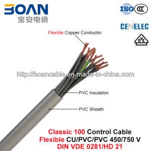 Classic 100, Control Cable, Flexible Cu/PVC/PVC, 450/750 V (DIN VDE 0281/HD 21) pictures & photos