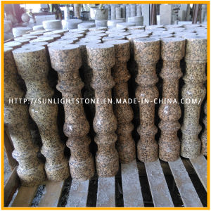 Natural Stone Yellow/Gold Granite Balustrade / Baluster for Outdoor Stair pictures & photos