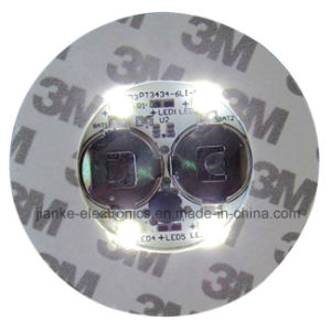 Promotional Drinking Glass LED Bottle Sticker with Logo Printed (4040) pictures & photos