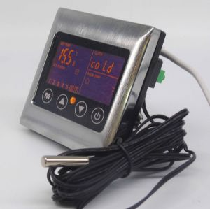 Touch Screen Underfloor Heating Thermostat with Metal Frame