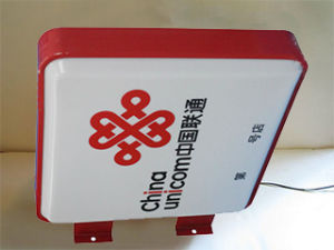 Electroplating Mini Acrylic Store Signboard pictures & photos