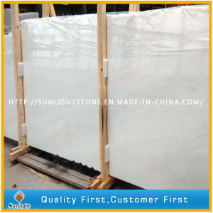Cheap China Snow White Marble for Flooring Tiles, Table Tops pictures & photos