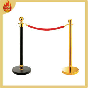 Cheap Wholesale Steel Rope Queue Pole, Railing Stand pictures & photos