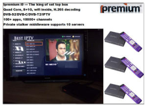 All in One STB DVB-S2/DVB-C/DVB-T2/IPTV with HD Stable Channels pictures & photos