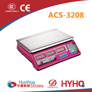 Electronic Fruit Scale Huaying Hy-3208 pictures & photos