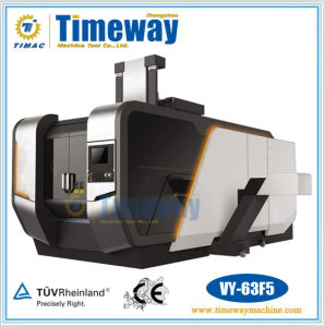 CNC Vertical Five Axis Linkage Machining Center (VY-63F5) pictures & photos