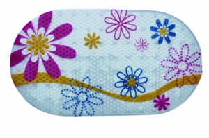 Printed Bath Anti Slip Mat pictures & photos