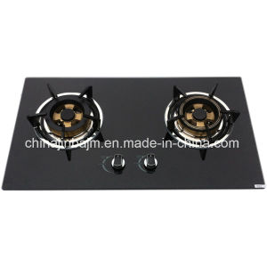 Promotion 2 Burners 730 Length Glass Top Stainless Steel Built-in Hob/Gas Hob pictures & photos