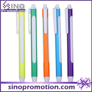 Promotional Ballpoint Pen Big Logo Printing Area Plastic Ball Pen pictures & photos