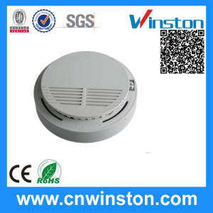Battery Operating Current Smoke Sensor Detector with CE pictures & photos