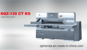 Automatic Single Hydraulic Guillotine (SQZ-KS130CT) pictures & photos
