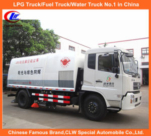 Truck Mounted Vacuum Sweeper in Garbage Litter Sweeper for Sale pictures & photos