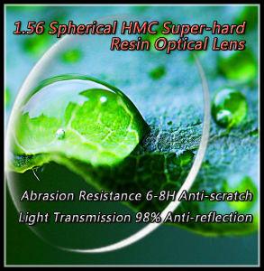 1.56 Spherical Hmc Super-Hard Resin Optical Lens