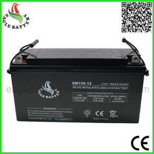 12V 150ah UPS AGM Mf Rechargeable Sealed Lead Acid Battery