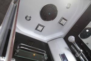 Black Frame Low Tray Steam Shower Cabin (ADL-8904) pictures & photos
