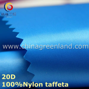 20d Satin Nylon Down-Proof Fabric for Down Jacket Garment (GLLML204) pictures & photos