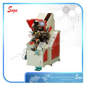 9-Pincer Computerized Toe Lasting Machine (With Hot Melt) pictures & photos
