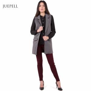 Oversize Vest Winter Office Jacket Lady Coat for Women pictures & photos