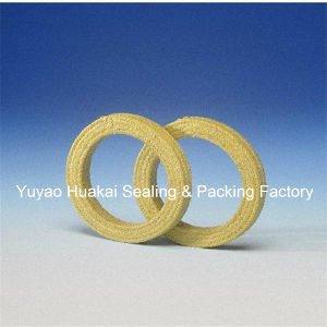 Corrosion Resistant 100% Four Fluorine Emulsion PTFE Without Oil Braided Packing