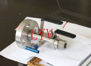 Double Block and Bleed Stainless Steel Ball Valve pictures & photos