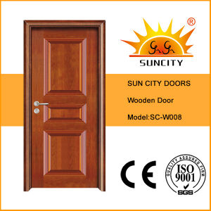 Hot Mahogany Wood Door Price for Projects (SC-W008) pictures & photos