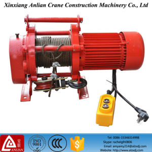 600kg Elevator Hoist/220V Motor/Kcd Electric Wire Rope Winch pictures & photos