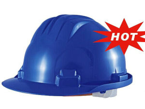 ABS/PE/HDPE Safety Work Hard Hat with Ce/ANSI/En/ISO Certificate with Ratchet Adjustment and Nylon Lining pictures & photos